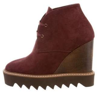 Stella McCartney Platform Wedge Ankle Boots