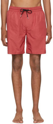 Burberry Red Guildes Swim Shorts