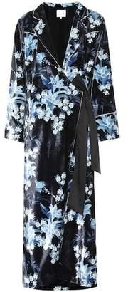 Johanna Ortiz New Sunrise velvet kimono