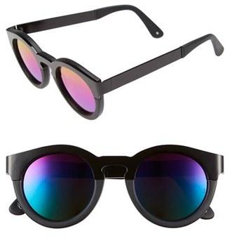 SUNDAY SOMEWHERE 'Soelae' 46mm Round Sunglasses $290 thestylecure.com
