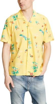 Gitman Brothers Surf and Turf Button Down Shirt