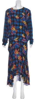 Preen Line Printed Maxi Dress