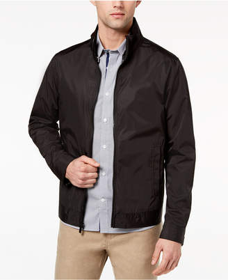 Ryan Seacrest Distinction Ryan Seacrest DistinctionTM Men's Slim-Fit Black Full-Zip Jacket, Created for Macy's