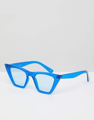 Cat Eye Asos Design Asos Fashion Sunglasses With Square Frame