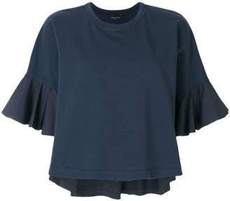 Roberto Collina flared sleeves blouse