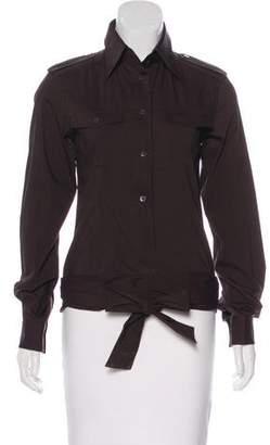 Dolce & Gabbana Collared Button-Up Top