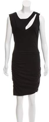 Pam & Gela Layered Cutout Dress
