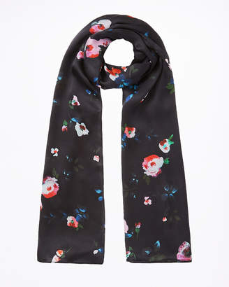 Jigsaw Painted Blooms Silk Scarf