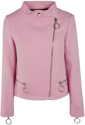 Moschino Knit Biker Jacket
