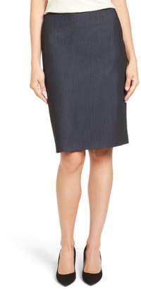 Anne Klein Stretch Woven Suit Skirt