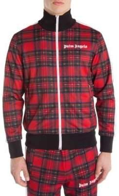 Palm Angels Royal Stewart Tartan Track Jacket