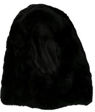 Max Mara Shearing-Trim Hood w/ Tags