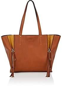 Chloé Women's Milo Medium Leather Tote Bag - Brown