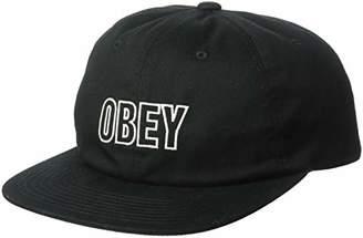 Obey Men s Speechless 6 Panel Snapback HAT bee159ba8f58