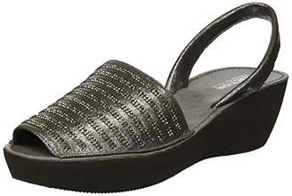 Kenneth Cole Reaction Women's Fine Stripe Platform Wedge Sandal