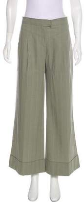 Stella McCartney High-Rise Wide-Leg Pants
