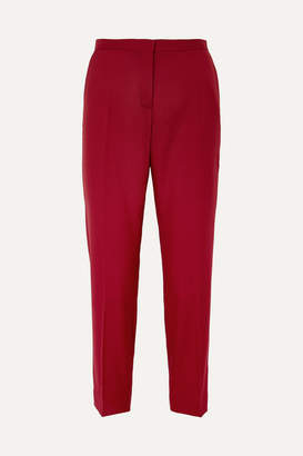 Marni Wool Tapered Pants - Burgundy