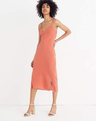 Madewell Silk Slip Dress