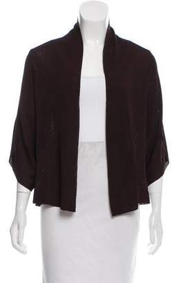 Eileen Fisher Long Sleeve Open Front Cardigan