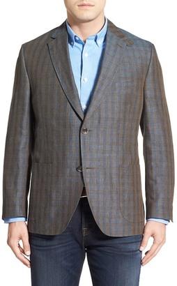 Kroon Bono 2 Plaid Linen Sport Coat (Big & Tall) $425 thestylecure.com
