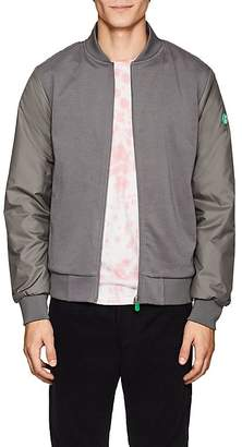 Save The Duck SAVE THE DUCK MEN'S JERSEY-FRONT BOMBER JACKET