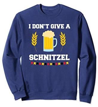 Funny Schnitzel Lovers Beer Drinking Oktoberfest Sweatshirt