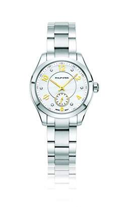 Philip Stein Teslar Women's 'Traveler' Swiss Quartz Stainless Steel Casual Watch