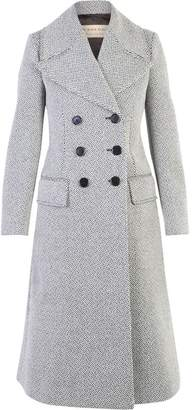 Burberry Grey Double Breasted Coat