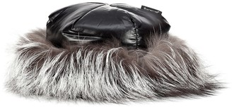 Moncler Fur-trimmed hat