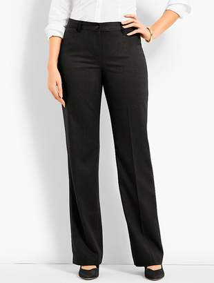 Talbots Windsor Wide-Leg Pant - Curvy Fit/Flannel
