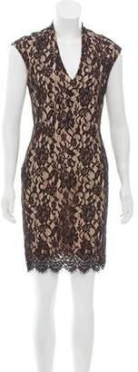 Haute Hippie Lace Mini Dress