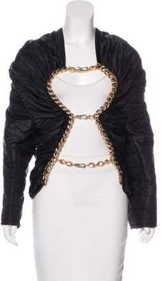 Junya Watanabe Comme des Garçons Embellished Quilted Jacket w/ Tags