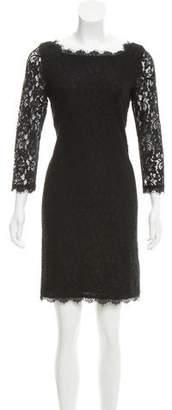 Diane von Furstenberg Lace Sheath Dress