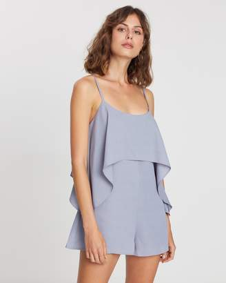 Atmos & Here Overlay Playsuit