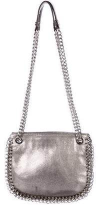 MICHAEL Michael Kors Chain-Link-Accented Leather Shoulder Bag