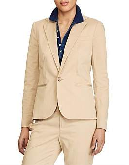 Polo Ralph Lauren Tailored Stretch Cotton Blazer