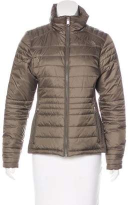 The North Face Zip-Up Puffer Jacket
