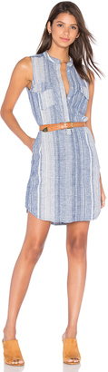 BLANKNYC Stripe Button Up Dress $88 thestylecure.com