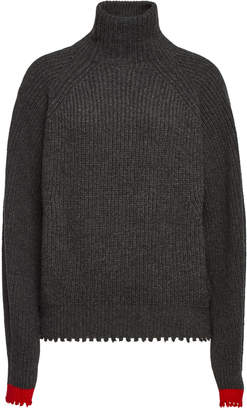 Zadig & Voltaire Zoe Turtleneck Pullover with Wool and Yak