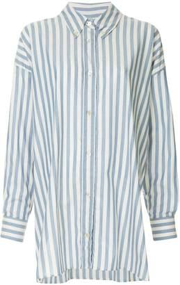 Isabel Marant vertical stripes shirt