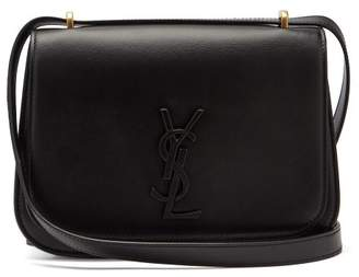Saint Laurent Spontini Small Leather Cross Body Bag - Womens - Black