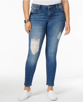 Celebrity Pink Trendy Plus Size The Slimmer Skinny Jeans