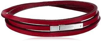 Tateossian Fettuccini Silver Large Triple Wrap Bracelet