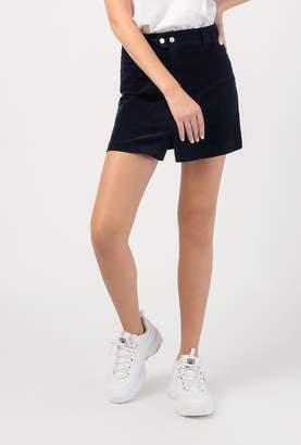 Azalea Corduroy A Line Mini Skirt