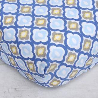 Caden Lane Blue Mod Crib Sheet