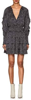 Ulla Johnson Women's Soraya Floral Tiered Minidress
