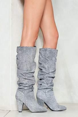 Nasty Gal nastygal The Twist Glitter Boot
