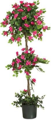 Bougainvillea Nearly Natural 5' Artificial Mini Topiary