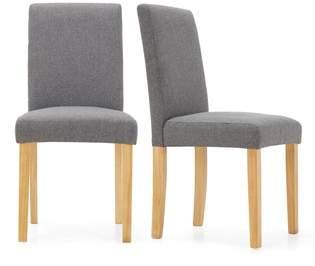 Next Set Of 2 Moda III Dining Chairs