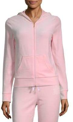Juicy Couture Robertson Velour Zippered Jacket
